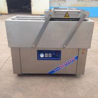 供应旭康DZ-550下凹式大米真空包装机 米砖真空包装机