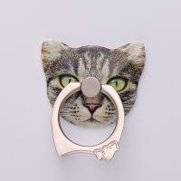 elice新款正品指环支架定制厂家直销高清可爱猫咪图案送车载挂钩