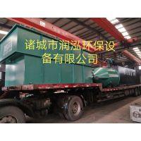 纺织厂印染污水处理溶气气浮机设备RHRF-20诸城润泓环保直销产品