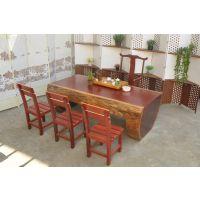 红花梨大板 实木原木红木茶桌大板 办公桌画案茶桌餐台茶台书法桌会议桌电脑桌