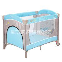 出口欧洲游戏床婴儿床工厂直销供应批发单层游戏床Playpen贴牌