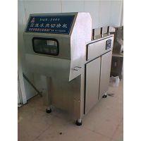 郑州方圆肉制品设备2000型冻肉切块机厂