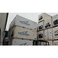 珠海中山佛山40英尺二手开利69NT40系列冷藏集装箱出售