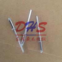东鸿盛供应304不锈钢抽芯铆钉 GB12618开口型扁圆头铆钉