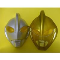 供应杰克奥特曼面具 奥特曼家族面具 PVC环保儿童面具 赶集玩具面具