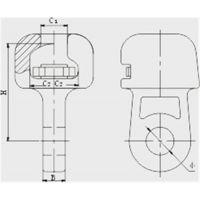 供应鸿煜牌碗头挂板单联弯头WS-7,W-7A,W-7B