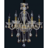 CVMA厂家热销 蜡烛水晶灯 金色蜡烛灯 热销百搭白炽灯 客厅、卧室、餐吊灯5021C-6A