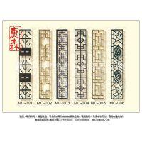 惠森古建提供仿古实木门窗火锅店及茶楼外立面门窗装修装饰