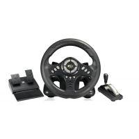 莱仕达无极2代PXN-V18II 赛车飞车电脑游戏方向盘 带手刹