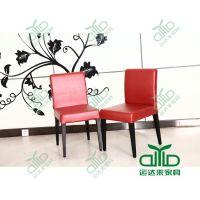西餐厅金属餐椅 茶餐厅不锈钢餐椅 火锅店烤漆椅 软包椅子定做