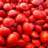 9.5mm特大纯天然马来西亚相思红豆血菩提子打孔一斤批发