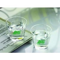 Free logo printing Free shipping 30ml1oz hard Clear PS Plastic ariline cup Party cup