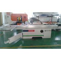 上海木工机械厂家/木工精密裁板锯、高精密45度推台锯、圆棒导轨重型导向锯