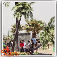 广州仿真植物厂家批发椰子树 人造椰子树叶 海南仿真椰子树