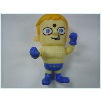 东莞塑胶胶玩具厂供应Q版动漫人物公仔手办 环保PVC注塑塑胶玩具礼品加工生产