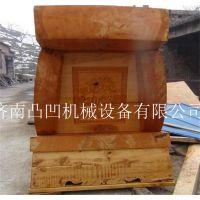 电脑棺材刻花机|凸凹棺材雕刻机