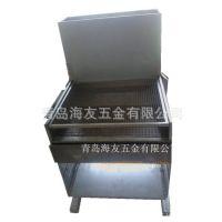 5人户外无烟烧烤 长方形烧烤设备 烧烤架 铁板 不锈钢户外烧烤炉