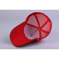 北京帽子工厂 正亚奇红色棒球帽定制 太阳帽定做 可以印制图案