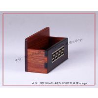 红酸枝木镂空杂物盒 越南红酸枝木名片盒 缅甸酸枝木小木盒订做
