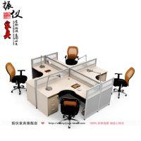 上海办公家具厂 屏风办公桌四人位组合办公员工桌公司职员办公桌