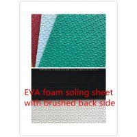 Bone design eva foam sheet sole sheet with back side brushed