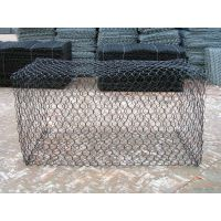 供应河南锌铝合金石笼网箱网垫铅丝石笼网箱 网孔80*100 规格2*1*1