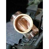 供应无棣鑫润生产加工黄铜高压承插焊管件DN15-100