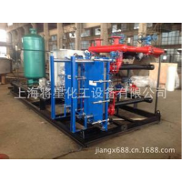上海将星 板式换热器只要应用行业 石油化工、造纸厂、纺织行业、医疗设备、食品机械等