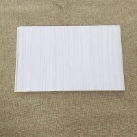 华仑观色厂家出口花纹立体设计300高分子发泡PVC竹木纤维集成护墙板 量大从优