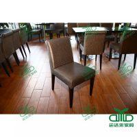 江门古镇 运达来餐厅家具订做 中式茶餐厅椅子 甜品店五金餐桌椅