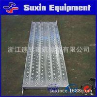 定制各规格热镀锌挂式钢制加宽冲孔踏板 厂家直销