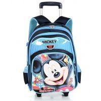 迪士尼拉杆包中小学生书包男女米奇正品背包儿童双肩包