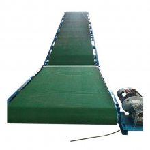 南通矿山专用皮带式输送机 各种包裹橡胶带运输机