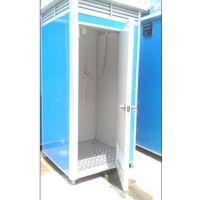 户外淋浴房临时公厕移动卫生间移动厕所流动洗手间彩钢房