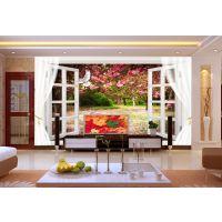 卧室客厅3D立体壁画|3D壁画定制价格|重庆3D壁画厂家供应商