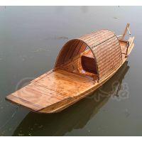 北京木船厂出售 乌篷船 手划船 观光旅游船 景观装饰船 服务类船供应