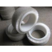 供应【恒成制刷】热卖 纸箱板机械组合毛刷 组合空心滚刷 包装机毛刷