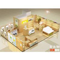 成都店面设计装修-专卖店设计-商业空间设计就选四川优美展柜