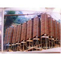 恒兴选矿机械设备厂家供应定做5LL-1200玻璃钢螺旋溜槽