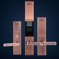指纹密码锁家用指纹锁防盗电子门锁磁卡锁指纹锁