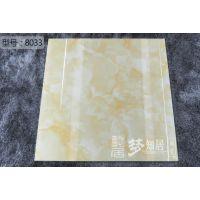 佛山市发源地陶瓷8033喷墨全抛釉地面砖工程出口瓷砖