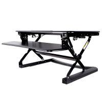 乐歌M1S坐站两用折叠升降桌支架增高笔记本电脑移动站立办公外贸出口