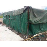 绿色盖货防雨布定做-涂塑布批发 防水帆布加工尺寸 广西涂塑帆布厂直营