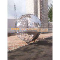 专业加工制作不锈钢地球仪雕塑厂家 不锈钢地球仪雕塑