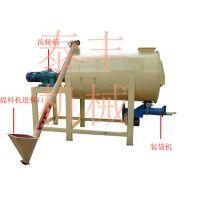 2018环保型干粉砂浆混合搅拌机 卧式圆柱型搅拌机 成套搅拌混合设备