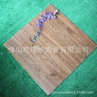 佛山瓷砖木纹仿古砖600x600mm通体瓷质防滑地板砖 卧室瓷砖地板砖