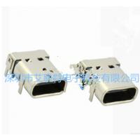 c type 3.1 USB圆形母座 【2pin接插件连接器】DIP款