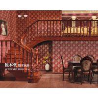 武汉实木楼梯!专业从事实木楼梯,设计,制作,安装