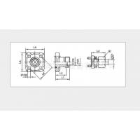 供应派克PARKER BFG齿轮泵直通液压方形法兰接头-EO24°锥连接