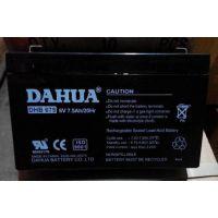 供应大华DHB675电池|大华6v7.5AH电池|大华蓄电池销售